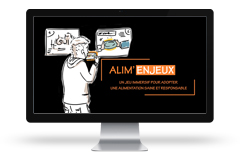 Application Alim'enjeux